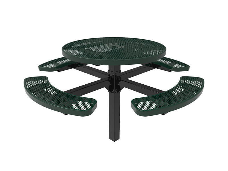 12-46in round pedestal table