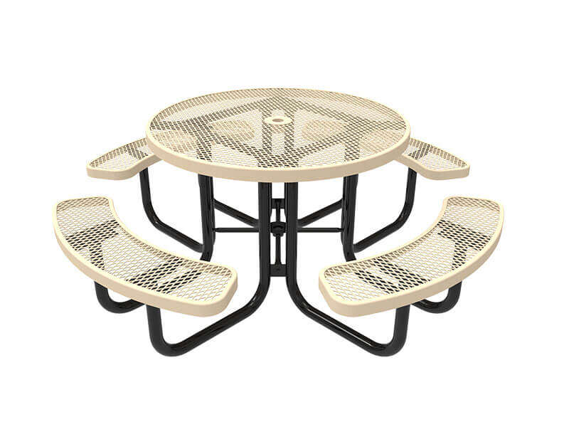 46in round portable table