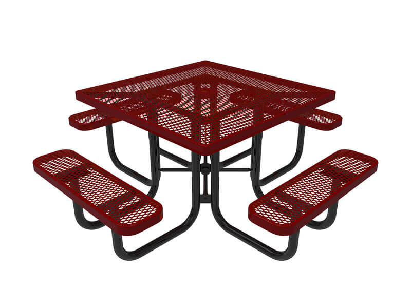 46in square portable table